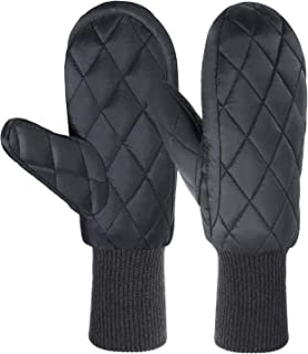 Andake 90% Duck Down Mittens Gloves For Women -20℉ Cold Weather Warm Winter Snow Gloves For Walking Jogging Work Outdoor