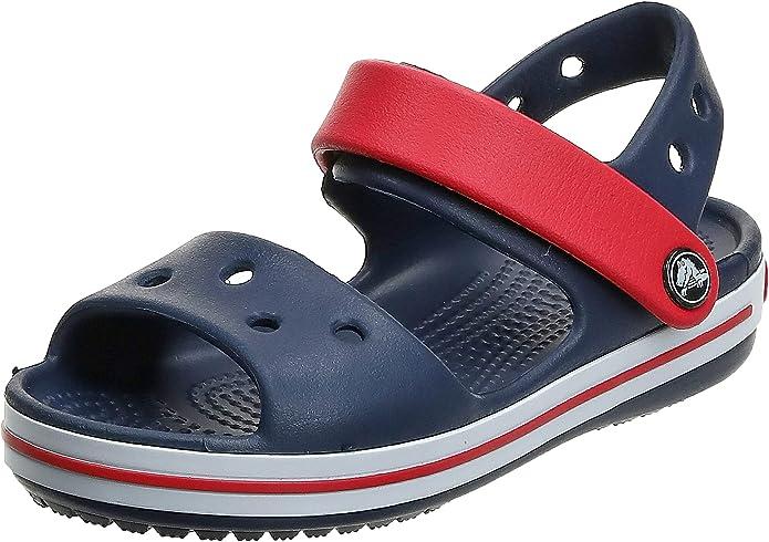 Crocs Crocband Sandal Kids, Sandalias con Punta Abierta Unisex bebé