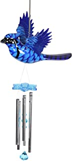 Exhart Outdoor Wind Chimes - WindyWings 12