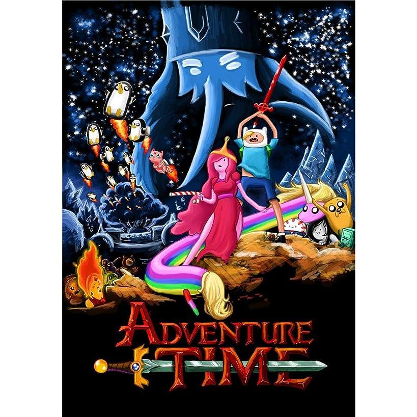 Adventure Time 14x20 Cartoon TV Series ArtPrint Poster 09C/Small Size