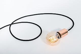 Lampada in rame, lampada Edison, lampada a mano, il design lampada a sospensione. Rame lampada Paris. Lampada di rame.