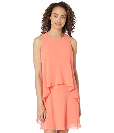LAUREN Ralph Lauren Layered Georgette Dress Women
