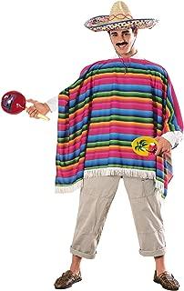 Mexican Serape & Sombrero Adult Costume Kit - Standard