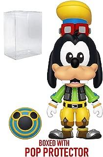 Funko 5 Star Disney: Kingdom Hearts 3 - Goofy Action Figure (Includes Compatible Pop Box Protector Case)