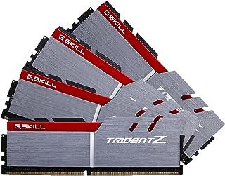 G.SKILL 32GB (4 x 8GB) TridentZ Series DDR4 PC4-27200 3400MHz For Intel Z170 Platform Desktop Memory Model F4-3400C16Q-32GTZ