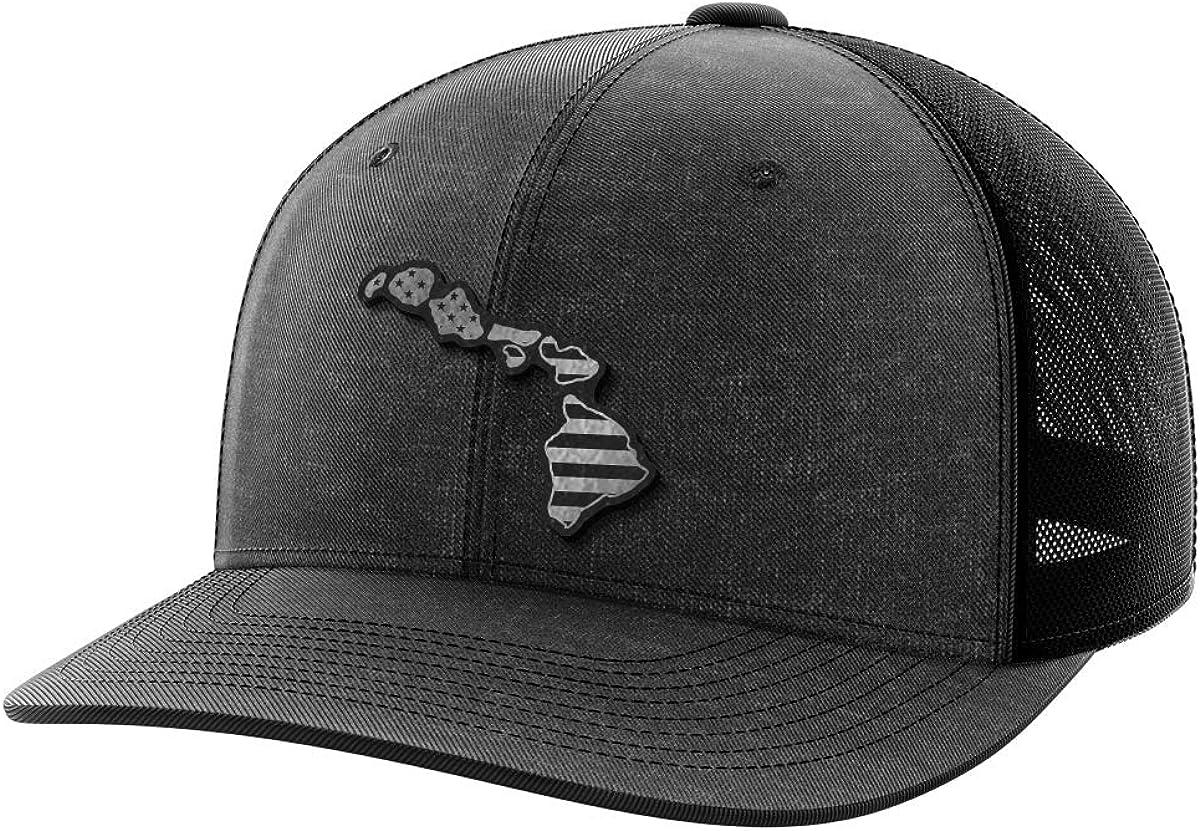 Hawaii United Black Patch Hat