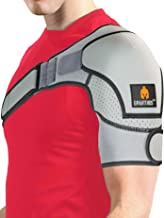 Sparthos Shoulder Brace - Support and Compression Sleeve for Torn Rotator Cuff, AC Joint Pain Relief - Arm Immobilizer Wra...