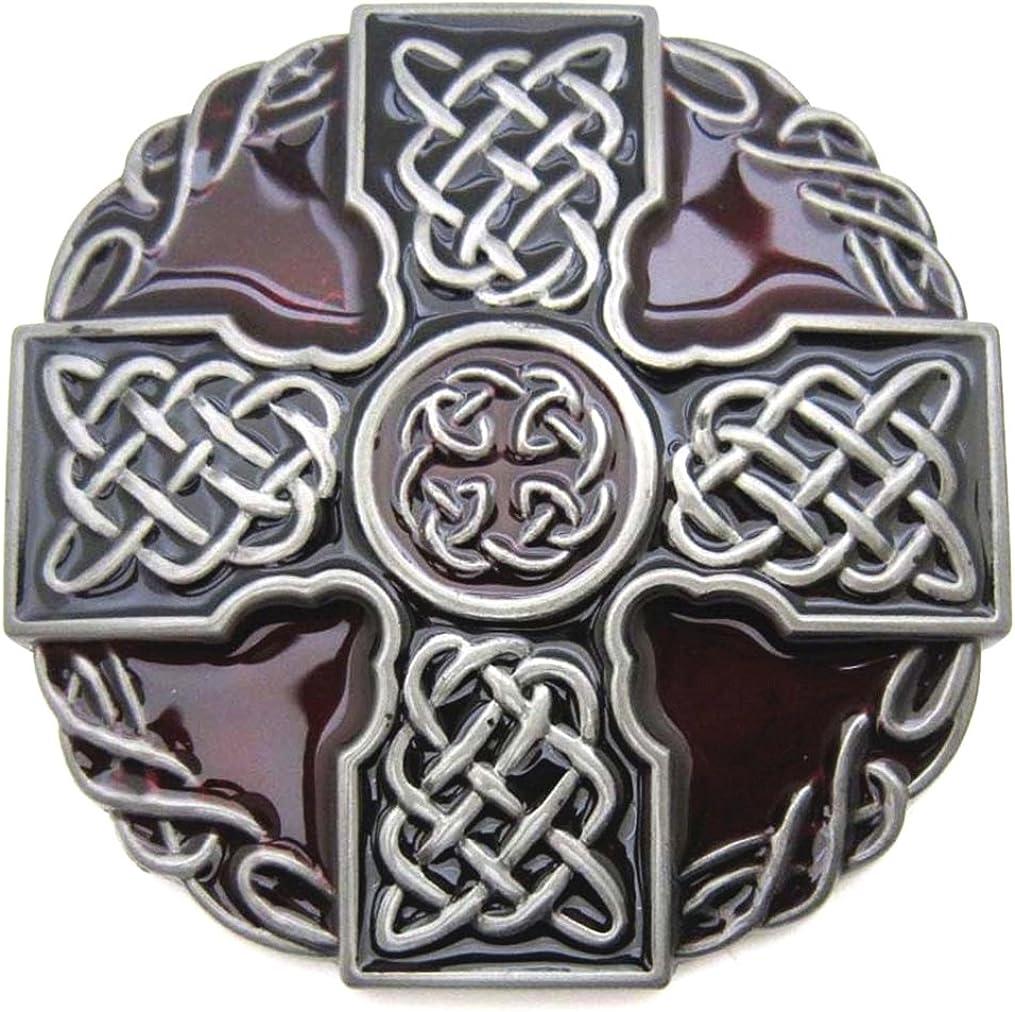 MASOP Celtic [Alternative dealer] Belt Long Beach Mall Buckle for Keltic Western Men Knot