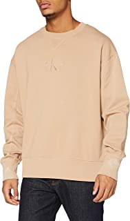 Calvin Klein Jeans Men's Acid Wash Crew Neck Sweater