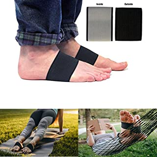 JERN Copper Arch Support Compression Sleeve - Plantar Fasciitis Brace - Copper Compression Pain Relief Inserts for Shoes - Orthotics for Foot Care, Feet Pain, Flat Arch, Heel Spur, High Arch (1 Pair)