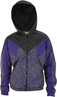 PUMA Men's Winterized Winbreaker Jacket with Sherpa-Lined Hood