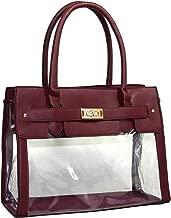 Clear Transparent Tote Purse Beach Bag Handbag