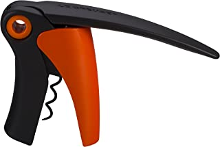 Le Creuset Shiny Flame Compact Lever Wine Bottle Opener
