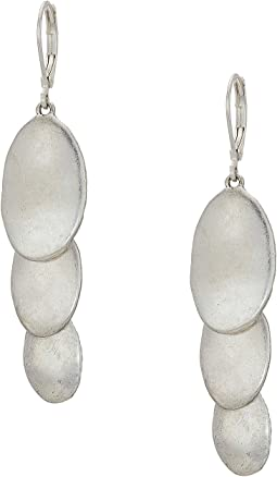 The Sak Layered Triple Drop Earrings