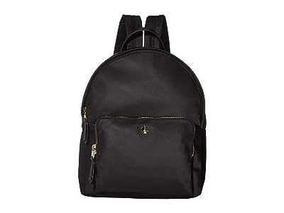 Kate Spade New York Taylor Large Backpack (Black) Backpack Bags
