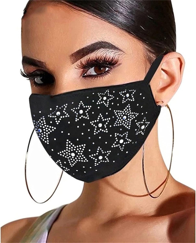 Face_Masks Unisex Washable New sales Reusable Beauty products But Diamond Rhinestone Flash