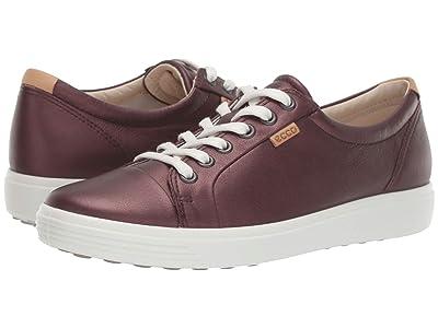 ECCO Soft 7 Sneaker (Fig Metallic) Women