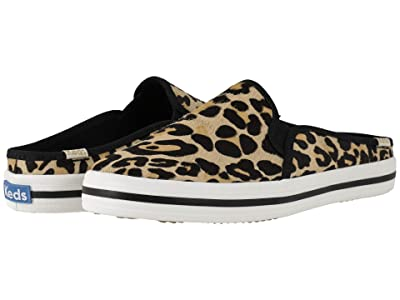 Keds x kate spade new york Double Decker Mule (Leopard) Women