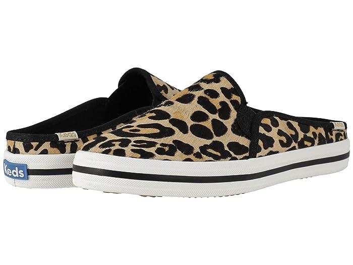 keds kate spade double decker leopard