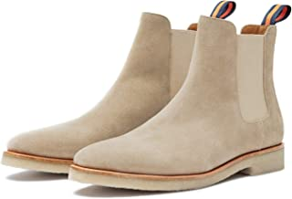 New Republic Men's Chuck Suede Chelsea Boot with Crepe Outsole