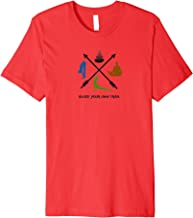 Blaze Your Own Trail Yoga Logo Fitted T Shirt