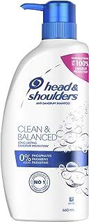 Head & Shoulders Clean Balanced Anti Dandruff Shampoo 660ml (Pack of 1)