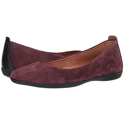 Sudini Lily (Burgundy Kid Suede) Women