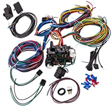 Wiring Harness Kit 21 Circuit Long Wires Standard Color Wiring Harness Kit for Chevy Mopar Hotrods Ratrods Ford Chrysler Universal
