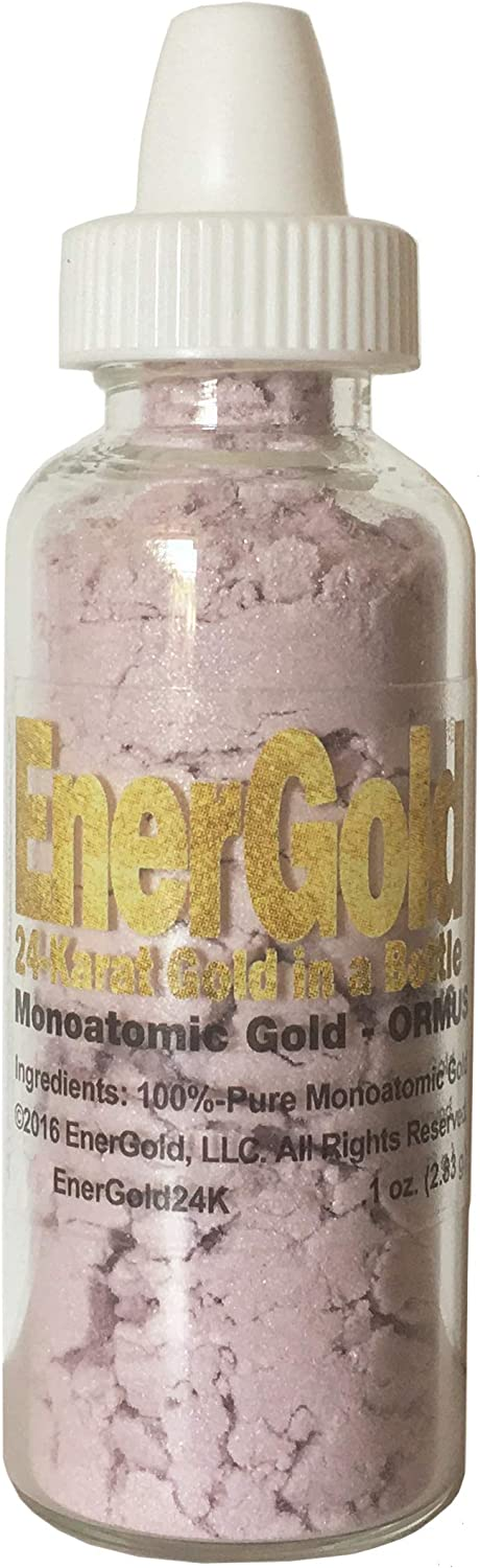 EnerGold® World's overseas ONLY Pure-Gold-Based Gold Credence O Monoatomic M-State