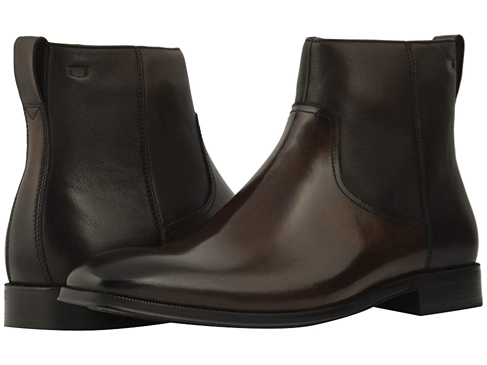 Florsheim Belfast Plain Toe Size Zip Boot (Brown) Men