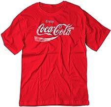 BSW Youth Enjoy Coca-Cola Coke Pop Soda Drink Vintage Logo Shirt