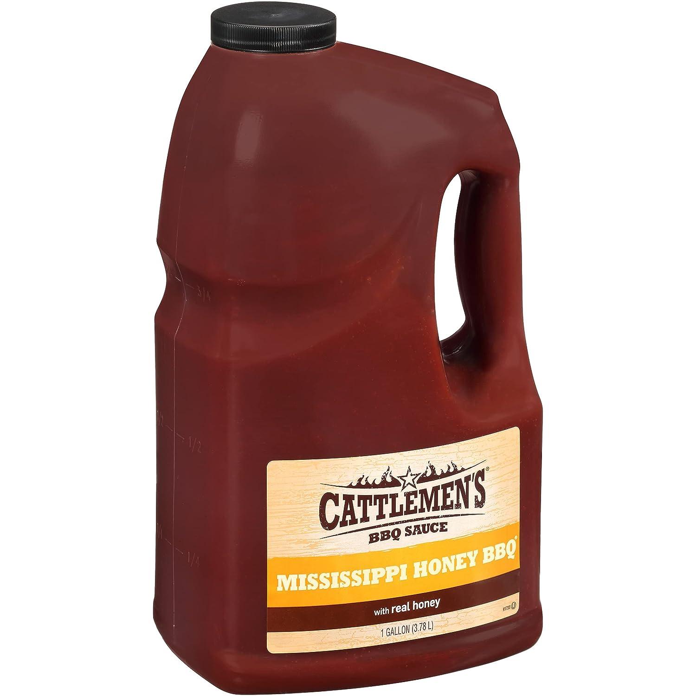 Cattlemen's Mississippi Honey BBQ Sauce Ranking TOP17 1 - One Bulk gal outlet Gallon