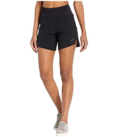 ASICS Road 7 Shorts (Performance Black) Women