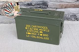 The 30 Ammodor tactical ammo can cigar humidor