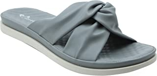 Shuberry SB-19073 Latest Footwear Collection, Comfortable & Fashionable Faux Leather in Beige, Black, Grey & Khaki Colour Sandal for Women & Girls