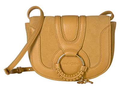 See by Chloe Hana Small Leather Crossbody Bag (Burnt Yellow) Handbags