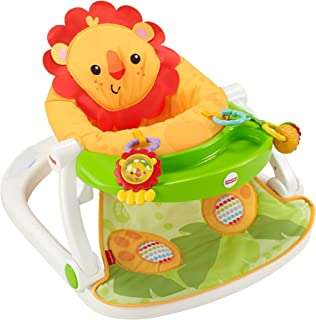 Fisher-Price Sit-Me-Up - Asiento con bandeja, León, Lion