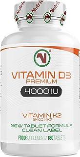 Nutriodol Vitamin D3 4000iu 180 High Strength Tablets |