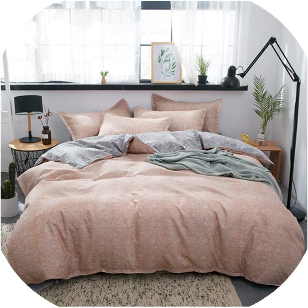 Huzzg Home Textile Summer Bedding Cover Silver 2021 spring and summer new Duvet Set Geo Sale price