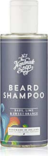 The Handmade Soap Companyメンズバジル、ライム、スウィートオレンジビアードシャンプー100 ml