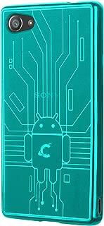 Sony Xperia Z5 Compact Case, Cruzerlite Bugdroid Circuit Case Compatible for Sony Xperia Z5 Compact - Teal