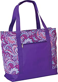 Picnic Plus Extra Large 2 In 1 Insulated Cooler Bag with Thermal Foil Section and Water Resistant Section, Perfect for Beach, Pool, Lake, Boating and Shopping, Lido (Purple Envy)