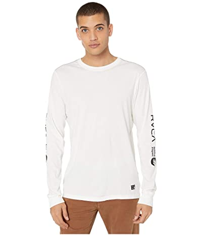 RVCA Anp Long Sleeve T-Shirt (Antique White) Men