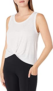 SOFFE womens Squad Knotted Muscle Top Shirt