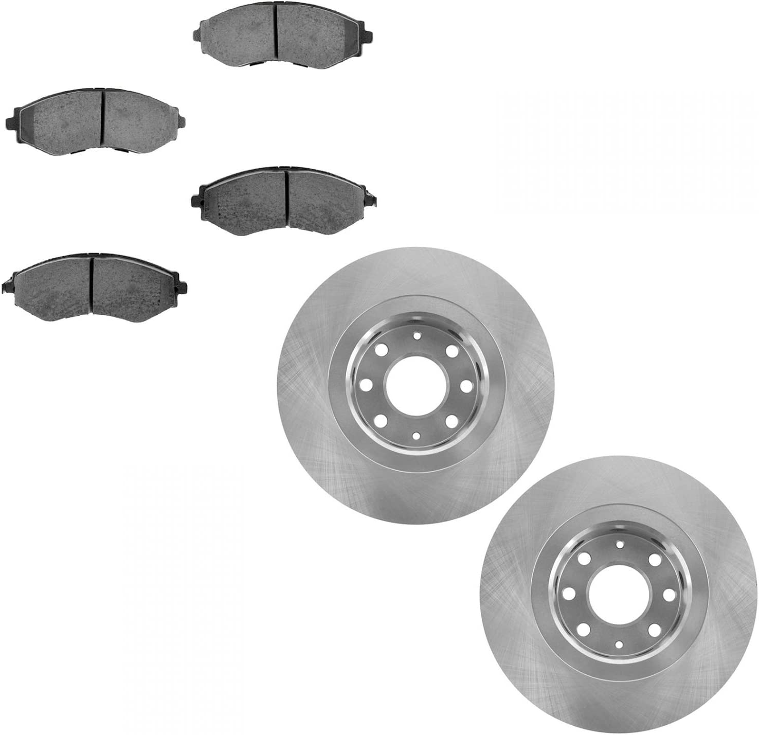 Ceramic Pad Brake cheap Rotor Front Set Pon Spark for Kit Aveo Chevy overseas