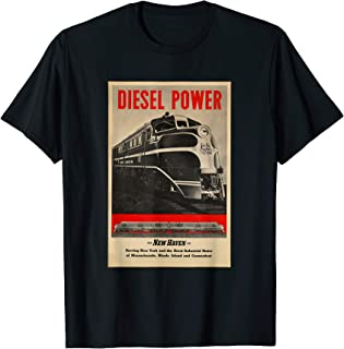 Diesel Power...New Haven Rail Road T Shirt