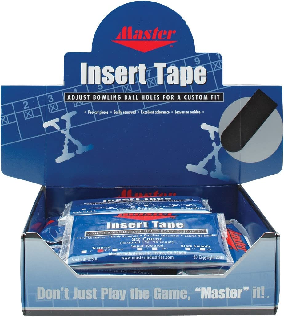 Master Industries Super Texture Pre-Cut OFFicial site popular specialty store Insert 12 Tape Bowlers
