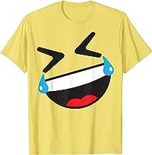 ROFL Face Emoji Easy Lazy Group Halloween Costume T-Shirt