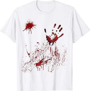 bloody halloween t shirts