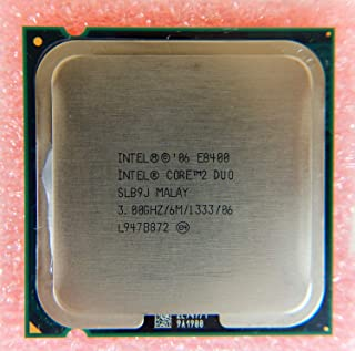 Intel Core Duo E8400 3.00GHz 6MB 1333MHz CPU SLB9J